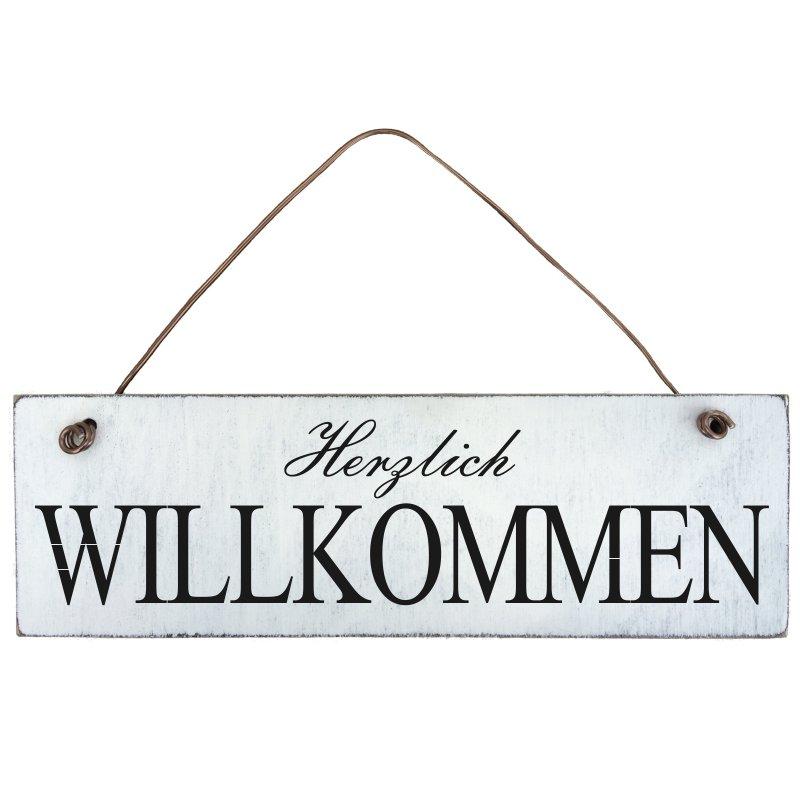 Türschild Herzlich Willkommen : shabby chic herzlich willkommen schild t rschild ~ Sanjose-hotels-ca.com Haus und Dekorationen