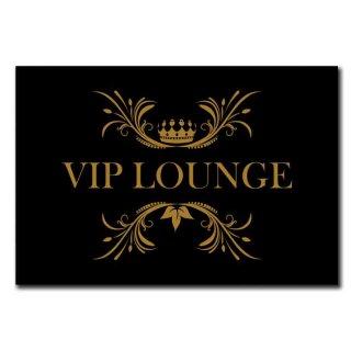 Hochwertiges Metallschild 30 x 20 cm aus Alu Verbund VIP Lounge Deko Schild Wandschild