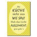 Hochwertiges Metallschild 30 x 20 cm aus Alu Verbund Die...