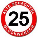 Hochwertiges Metallschild 30 cm rund aus Alu Verbund...