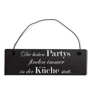 Die besten Partys Küche Dekoschild Türschild