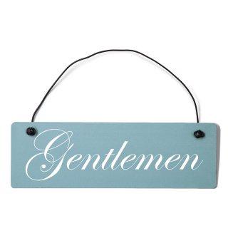 Gentleman Dekoschild Türschild