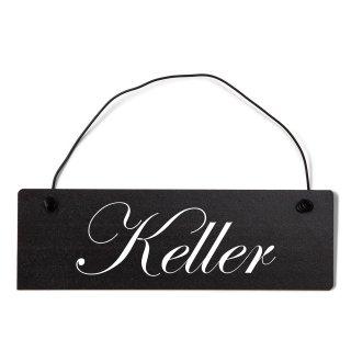 Keller Dekoschild Türschild