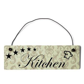 Kitchen Dekoschild Türschild