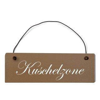 Kuschelzone Dekoschild Türschild
