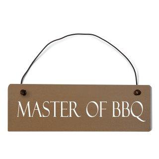 Master of BBQ Dekoschild Türschild