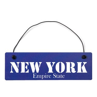 New York Dekoschild Türschild