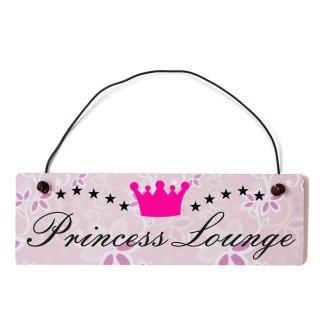 Princess Lounge Dekoschild Türschild