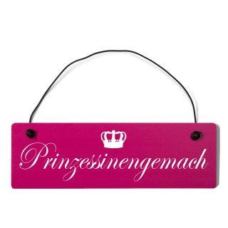 Prinzessinengemach Dekoschild Türschild