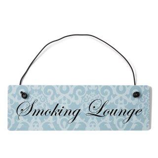 Smoking Lounge Dekoschild Türschild