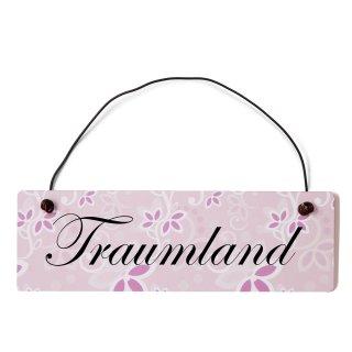 Traumland Dekoschild Türschild
