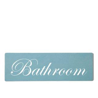Bathroom Dekoschild Türschild gelb zum kleben