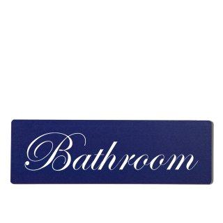 Bathroom Dekoschild Türschild hellblau zum kleben