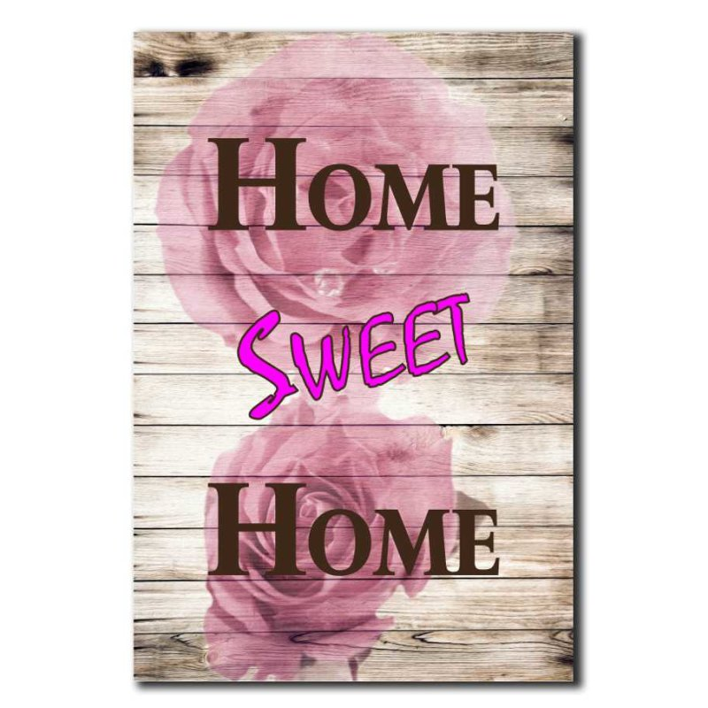 home sweet home deko schild wandschild. Black Bedroom Furniture Sets. Home Design Ideas